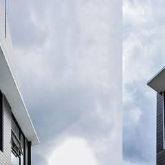 Rumah Bukit Ligar, Bandung: Dinding oleh RHBW, Industrial