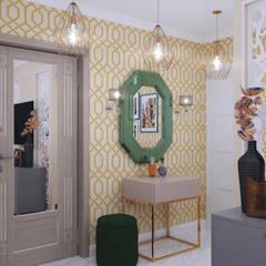 Семейные ценности в ЖК Троицкая Слобода: Коридор и прихожая в . Автор – Студия NATALYA SOLNTSEVA Interiors Design