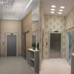 Hall Edificio: Corredores e halls de entrada  por Ellis Interior Design