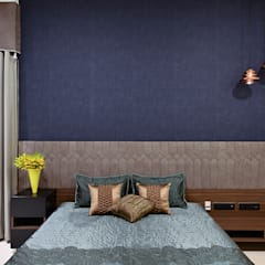 DIVYA BUNGALOW:  Bedroom by smstudio