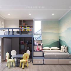 Thiết kế căn hộ Gateway Thảo Điền sang trọng và thanh lịch - Phong cách Tân Cổ Điển:  Phòng trẻ em by ICON INTERIOR
