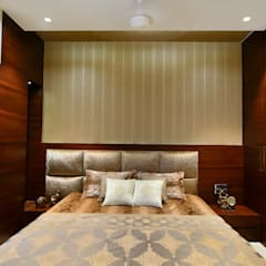 PRIVATE RESIDENCE SANTACRUZ: modern Bedroom by smstudio