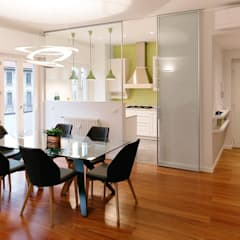 Dining room by bottegaarchitettonica , Modern لکڑی Wood effect