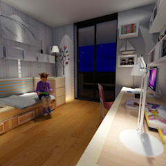 ARS İç Mimarlık – Kız Çocuk Odası:  tarz Kız çocuk yatak odası