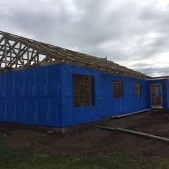 Construcción de Casa Centinela por CIVCO: Casas unifamiliares de estilo  por Civco Ltda