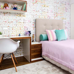 Girls Bedroom by TGV Interiores