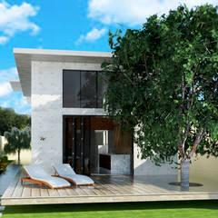 Casa de Praia: Casas industriais por Vinicius Gama