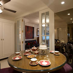 Dinning Room:  Dining room by Bric Design Group