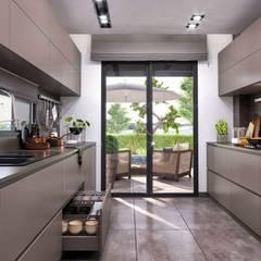 ห้องครัว โดย VERO CONCEPT MİMARLIK, โมเดิร์น