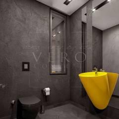 VERO CONCEPT MİMARLIK – Primus Villa Güzelbahçe: modern tarz Banyo
