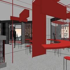 """作伙 ~ 在地的""""辦桌""""文化:  餐廳 by 騰龘空間設計有限公司"""