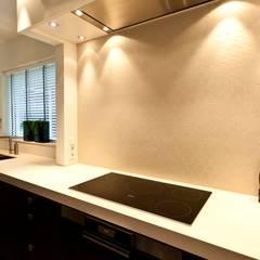 Woonhuis Tilburg:  Keuken door DWB2C, Klassiek Tegels