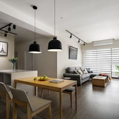 Dining room by 極簡室內設計 Simple Design Studio,
