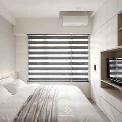 ห้องนอน by 極簡室內設計 Simple Design Studio