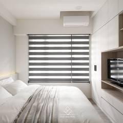 Bedroom by 極簡室內設計 Simple Design Studio