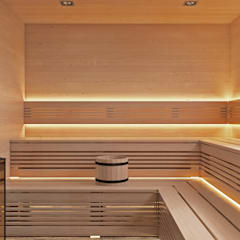 U-Style design studio:  tarz Spa
