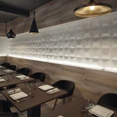 :  Dining room by DUNE CERAMICA