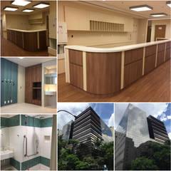 Hospital TotalCor - AMIL: Hospitais  por Karen Oliveira - Designer de Interiores