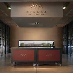 ESPACIO SALENTEIN: Bodega Salentein, Killka y Capilla de la Gratitud: Centros de exposiciones de estilo  por Bórmida & Yanzón arquitectos