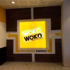 Woko Woko: Locales gastronómicos de estilo  por Diseñador Paul Soto, Industrial Aluminio/Cinc