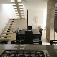 CASAS SIAMESAS ANAPOIMA: Comedores de estilo  por RIVAL Arquitectos  S.A.S.