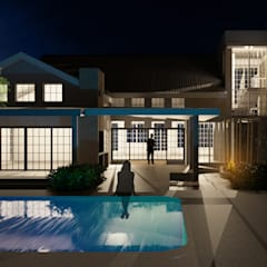 House Waverly:  Garden Pool by Nuclei Lifestyle Design, Modern