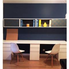 Le bureau des parents : Bureau de style de style Scandinave par Delphine Gaillard Decoration