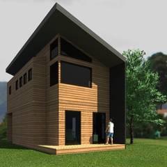 Casa para H Petersen: Casas ecológicas de estilo  por Casabella