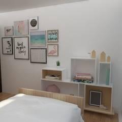 غرفة نوم تنفيذ 78metrosCuadrados