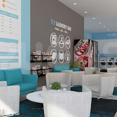 laundry shop sunway:  Commercial Spaces by Yucas Design & Build Sdn. Bhd.
