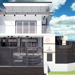 Maisons mitoyennes de style  par Yucas Design & Build Sdn. Bhd.