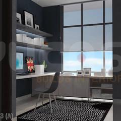modern Study/office by Yucas Design & Build Sdn. Bhd.
