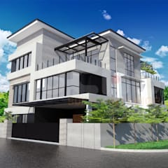 bungalow at segambut:  Bungalows by Yucas Design & Build Sdn. Bhd.