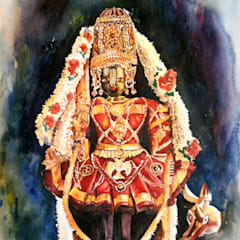 Udupi Shri Krishna: asian  by Indian Art Ideas,Asian