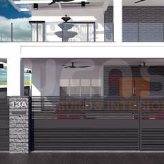 Maisons de plain-pied de style  par Yucas Design & Build Sdn. Bhd.