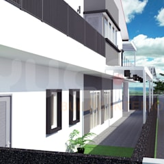 Semi-D at Jln Ipoh:  Bungalows by Yucas Design & Build Sdn. Bhd.