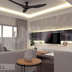 Living room by Yucas Design & Build Sdn. Bhd.