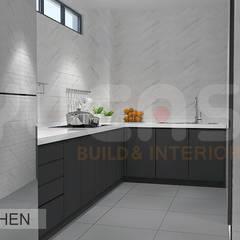 Semi-D at Jln Ipoh:  Kitchen by Yucas Design & Build Sdn. Bhd.