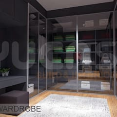 Dressing room by Yucas Design & Build Sdn. Bhd.