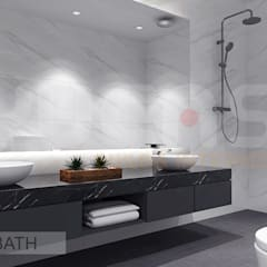 Semi-D at Jln Ipoh:  Bathroom by Yucas Design & Build Sdn. Bhd.