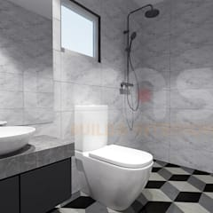Bathroom by Yucas Design & Build Sdn. Bhd.