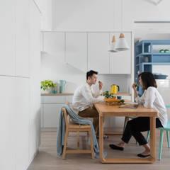 樂樂:  廚房 by 寓子設計