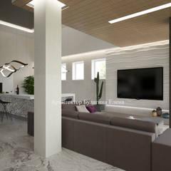 Архитектурное Бюро 'Капитель': eklektik tarz tarz Spa