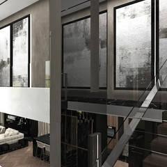 FROM COVER TO COVER | Wnętrza rezydencji: styl , w kategorii Schody zaprojektowany przez ARTDESIGN architektura wnętrz
