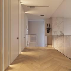 INSIDE THE MODERN HOUSE:  Flur & Diele von Tobi Architects