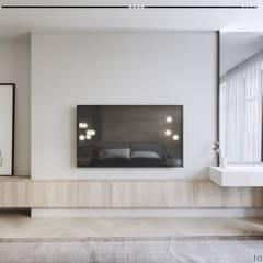 INSIDE THE MODERN HOUSE:  Schlafzimmer von Tobi Architects