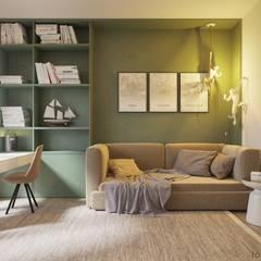 INSIDE THE MODERN HOUSE: minimalistische Kinderzimmer von Tobi Architects