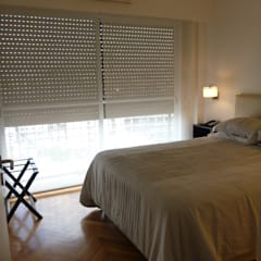 dormi principal: Dormitorios de estilo  por arq.c2,Moderno
