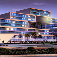 Habitat, Mixed use development, retail, office and serviced apartment:  Hotels by Form & Function