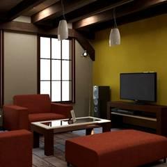 غرفة الميديا تنفيذ Arq. Rodrigo Culebro Sánchez